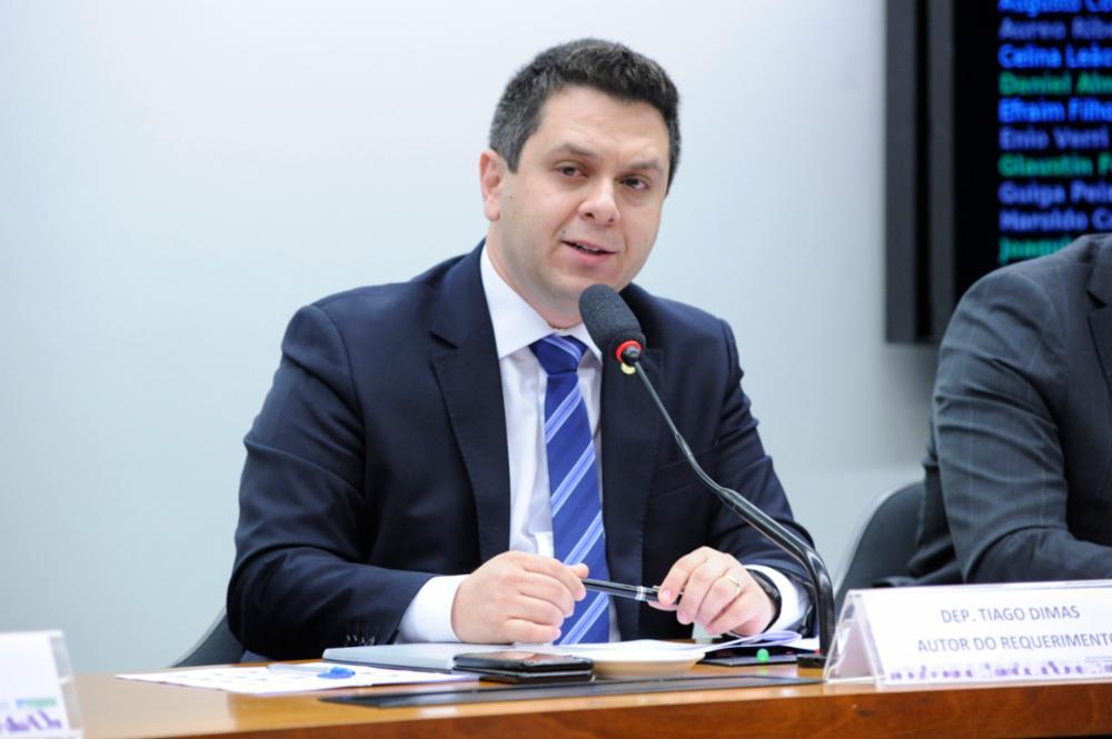 Audiência Pública para a  possível privatização ou desmobilização de armazéns e centros de distribuição da Companhia Nacional de Abastecimento - CONAB. Dep. Tiago Dimas (SOLIDARIEDADE-TO)