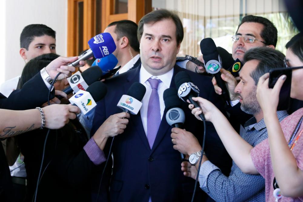 Maia: aprovação da reforma será uma vitória do Parlamento, não do governo