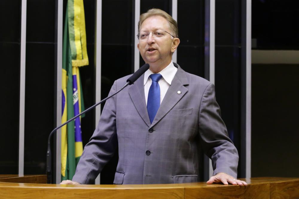 Homenagem ao Jubileu de Carvalho para Comemorar os Oitenta Anos da Assembleia de Deus de Uberlândia. Dep. João Campos (PRB-GO)