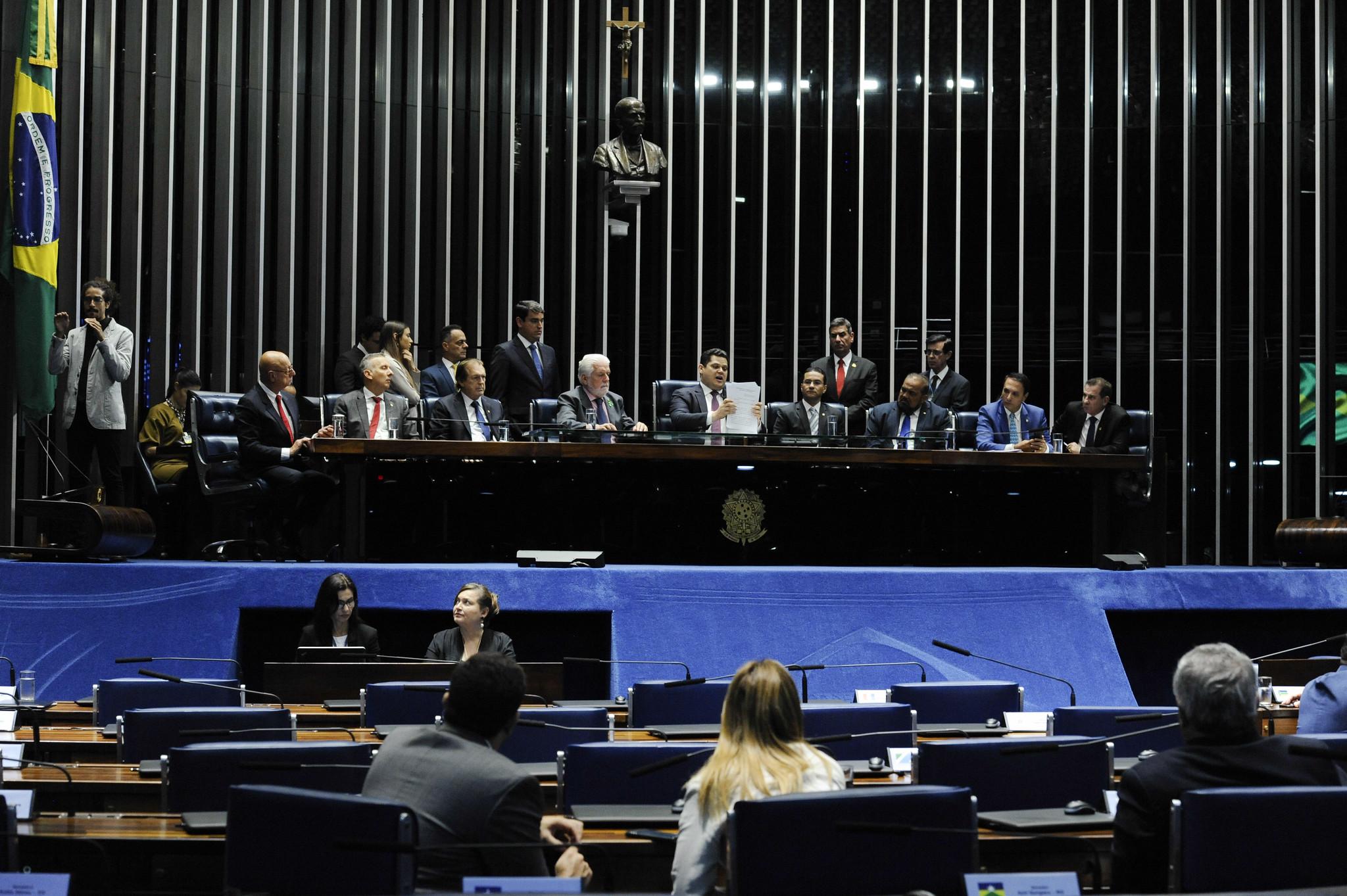Administração Pública - geral - promulgação emenda constitucional orçamento impositivo emendas bancadas Davi Alcolumbre (presidente do Senado) em 26/06/19