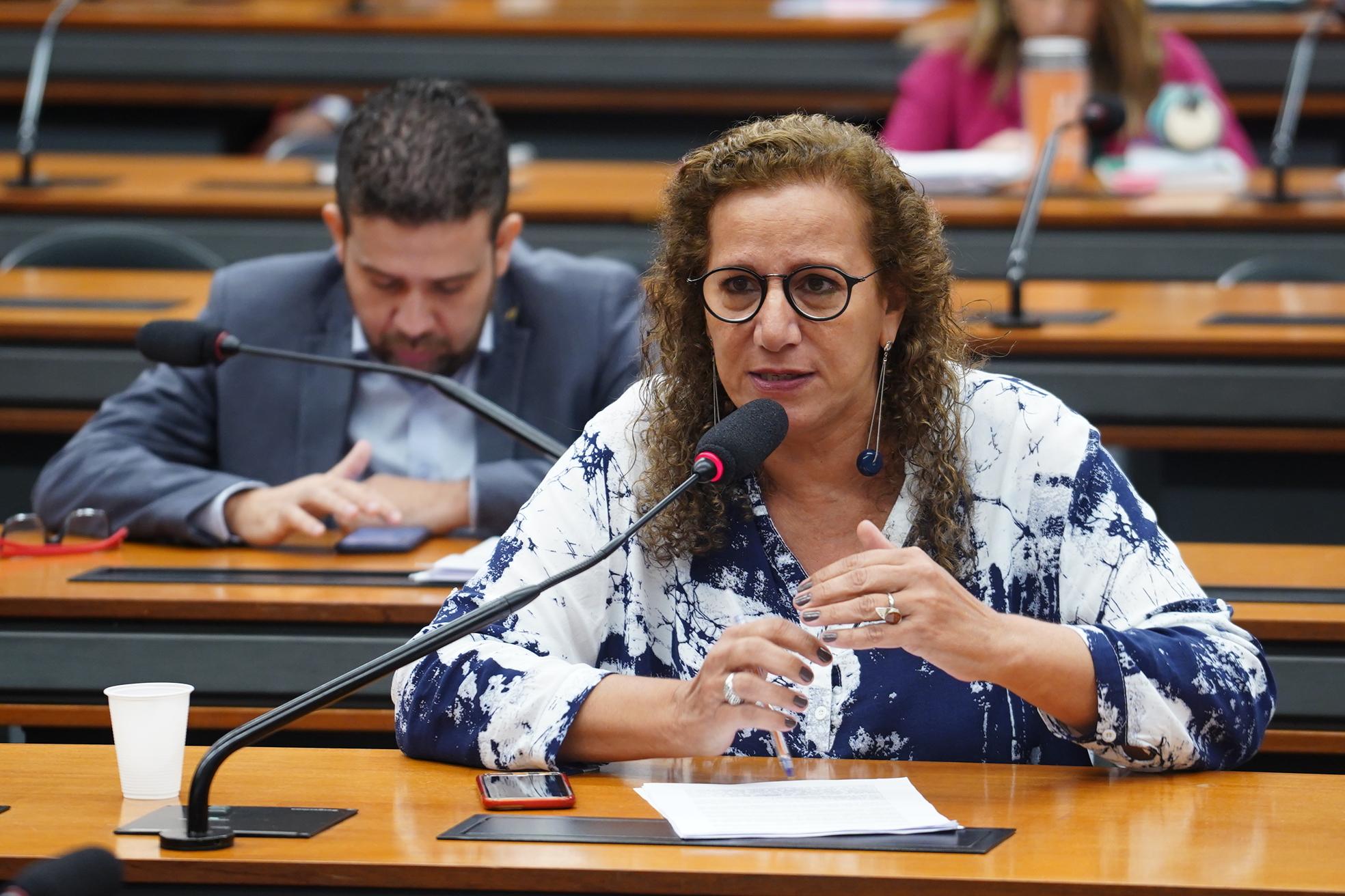 Reunião Ordinária para discussão e votação do parecer do relator, dep. Samuel Moreira (PSDB/SP). Dep. Jandira Feghali (PCdoB-RJ)