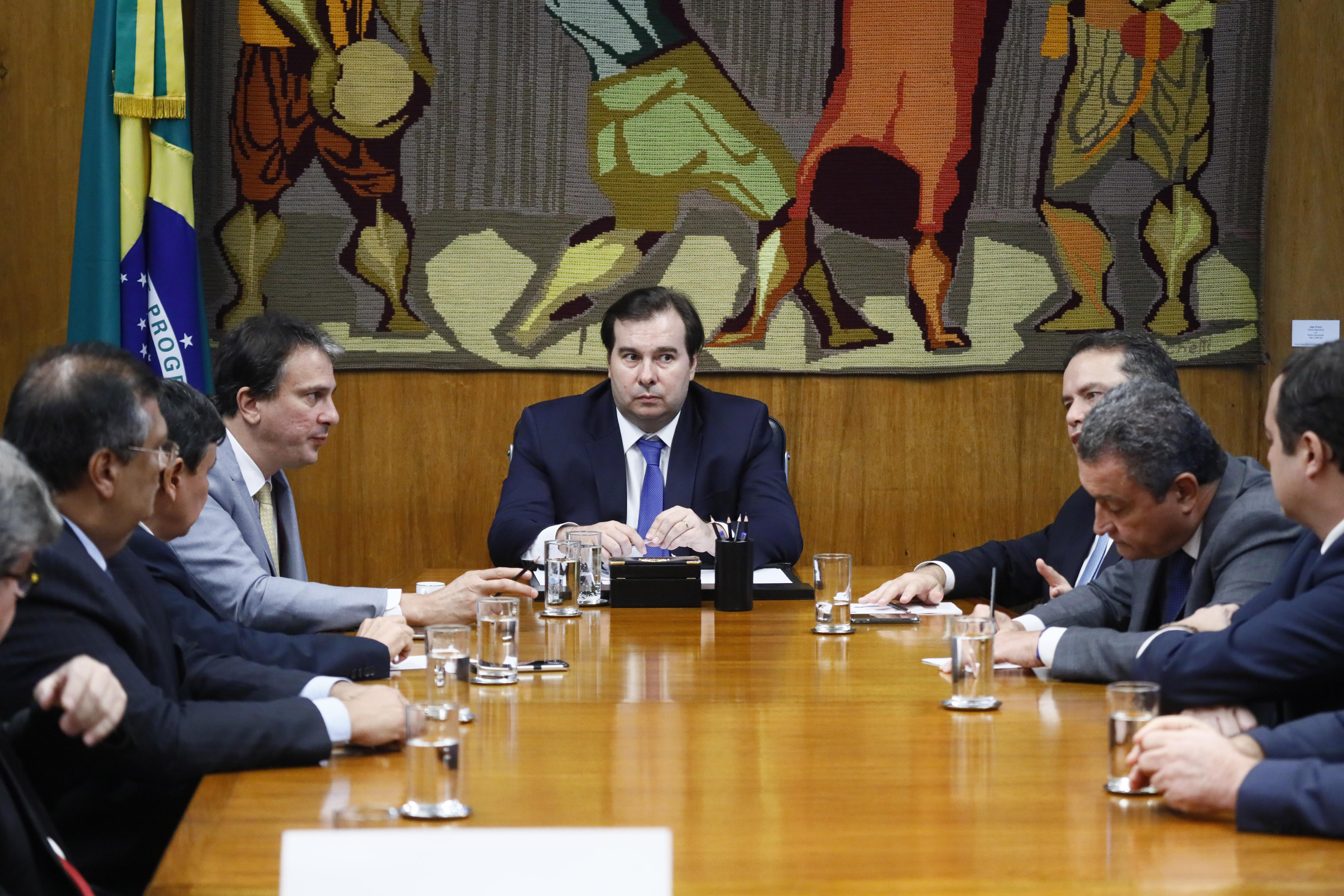 Reunião com governadores do Nordeste