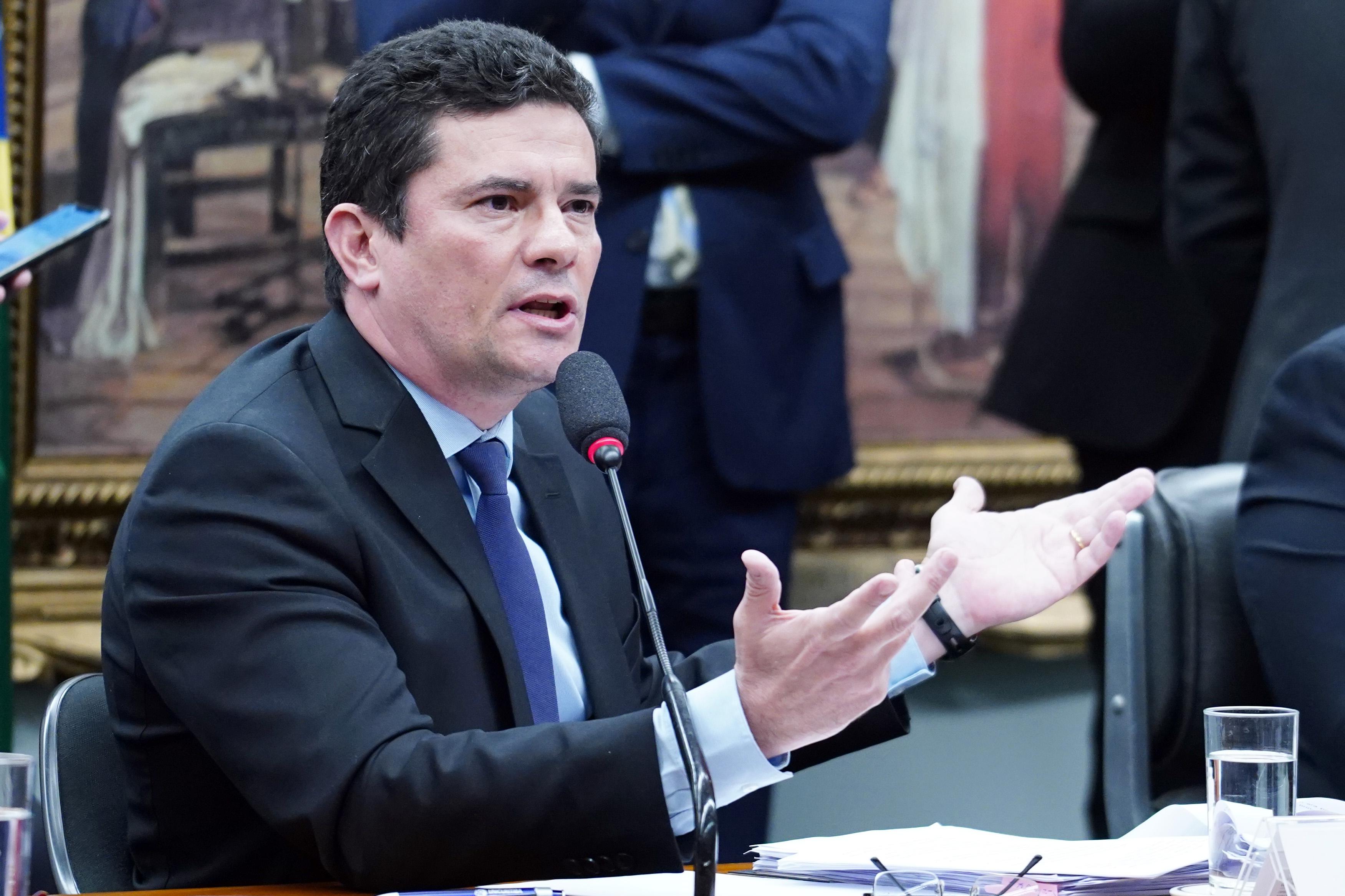 Reunião sobre o material publicado pelo The Intercept Brasil. Ministro da Justiça e Segurança Pública, Sérgio Moro