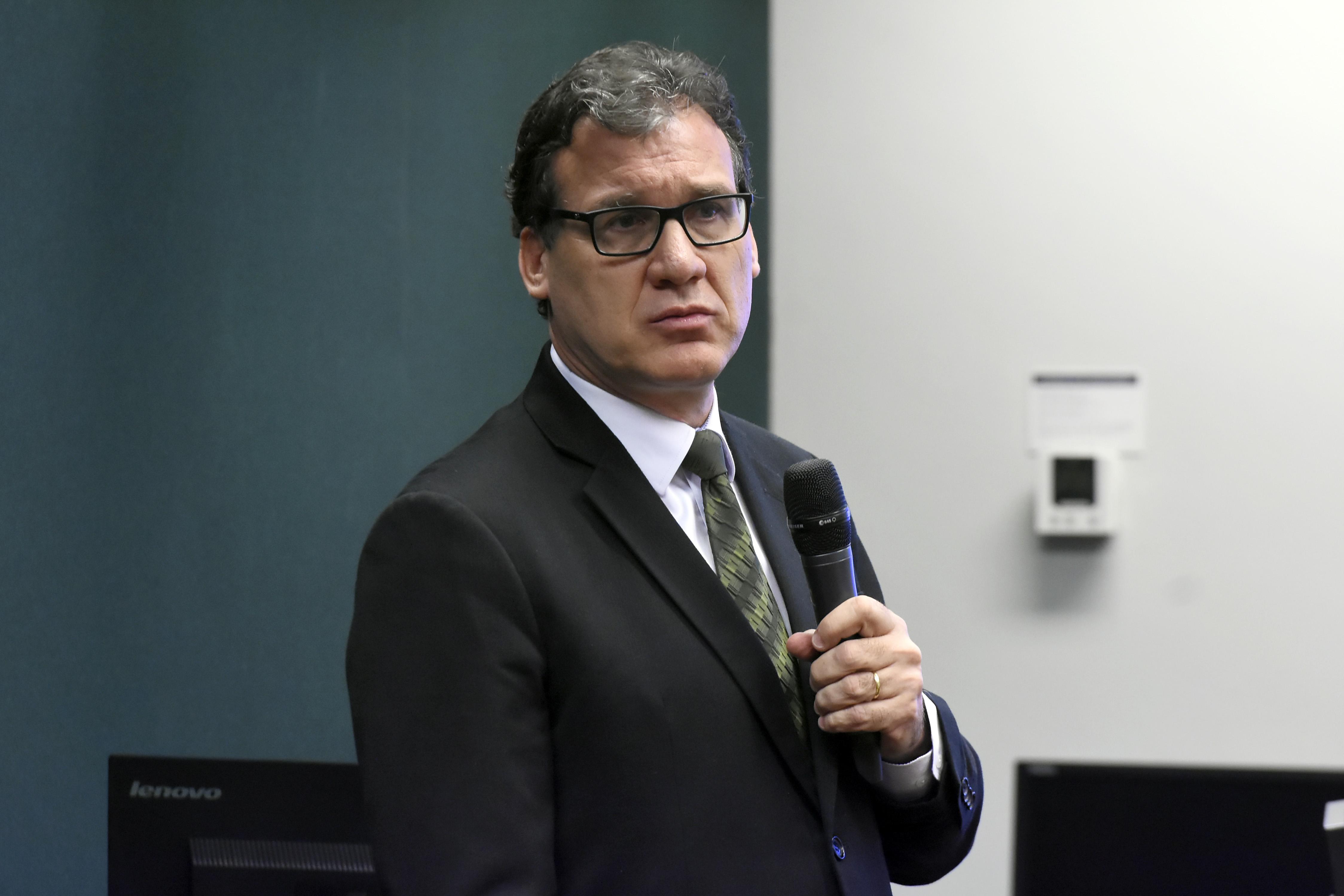 Audiência pública sobre o planejamento e preparações para aplicação do ENEM em 2019. Presidente Substituto do INEP, Camilo Mussi