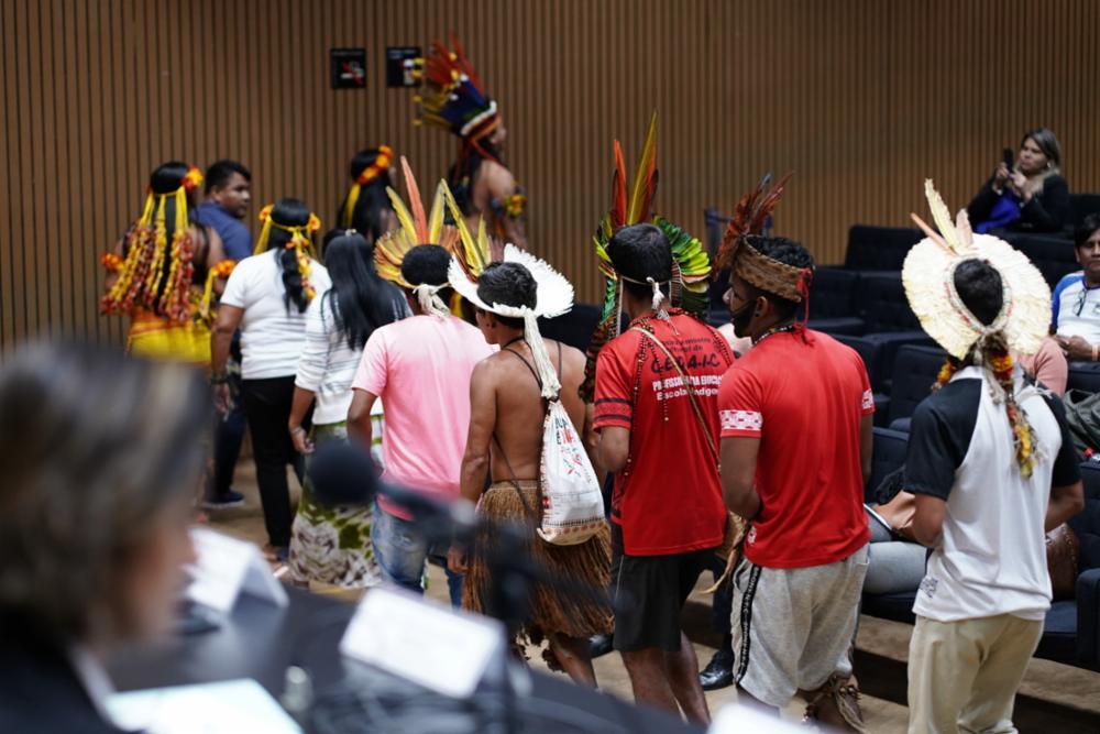 Reunião ordinária e Audiência Pública sobre a situação da Educação Escolar Indígena no Brasil e sua Necessária e Urgente Valorização.