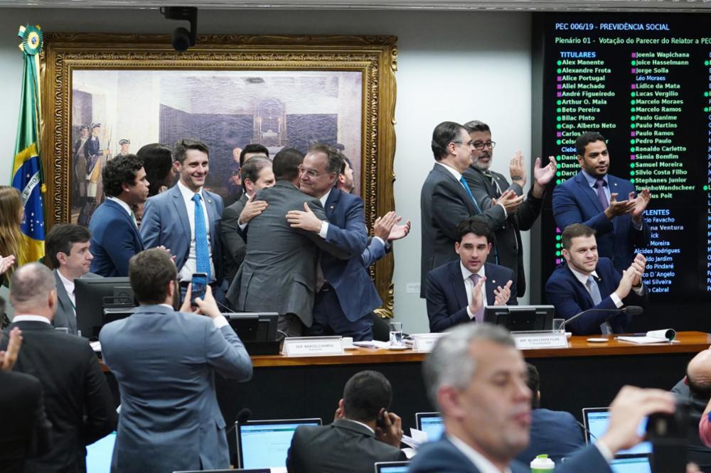 Reunião ordinária para votação do parecer do relator, dep. Samuel Moreira (PSDB-SP)