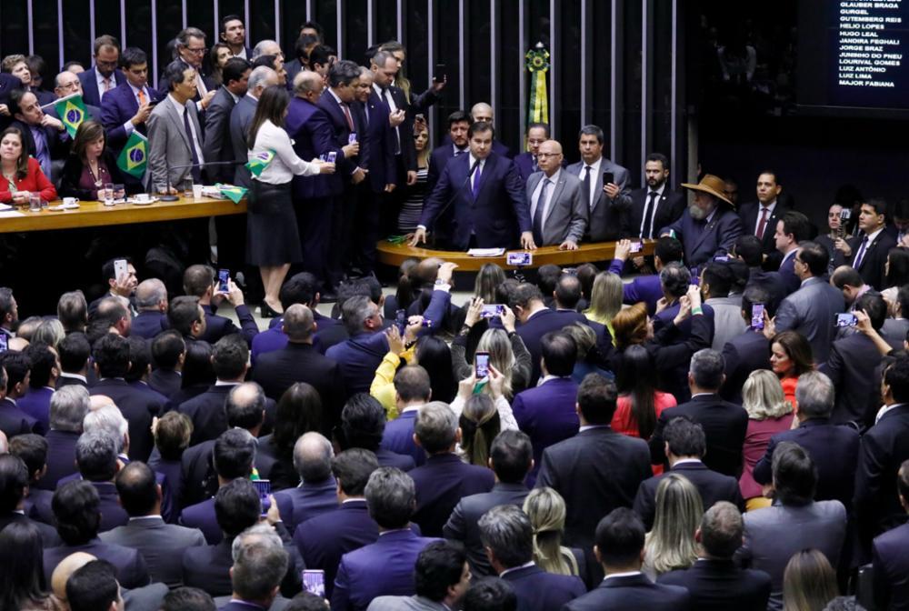 Votação do texto-base da PEC 6/2019 - Reforma da Previdência