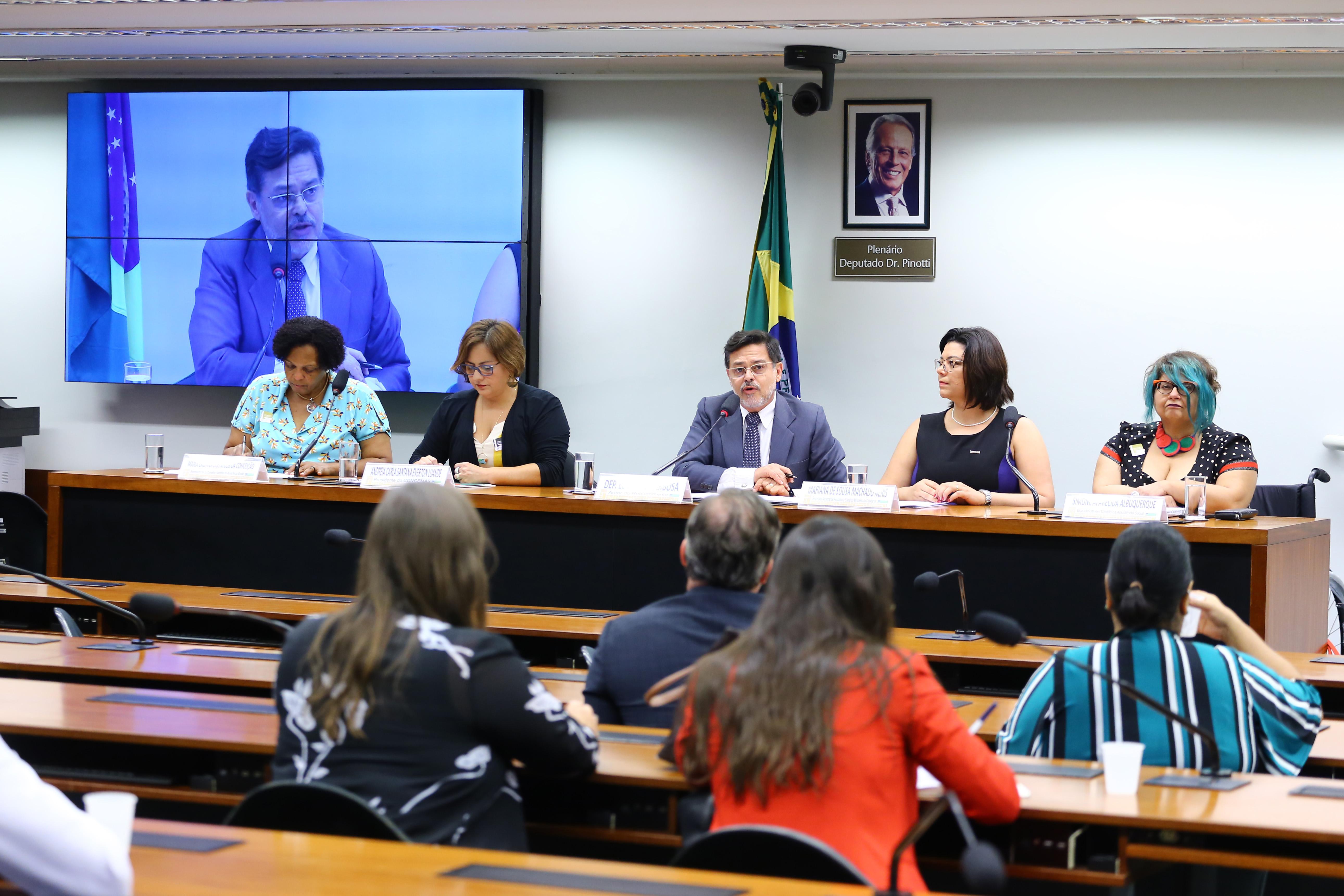 """Audiência Pública - Tema: """"Debater sobre a Resolução CNAS 109/09""""."""