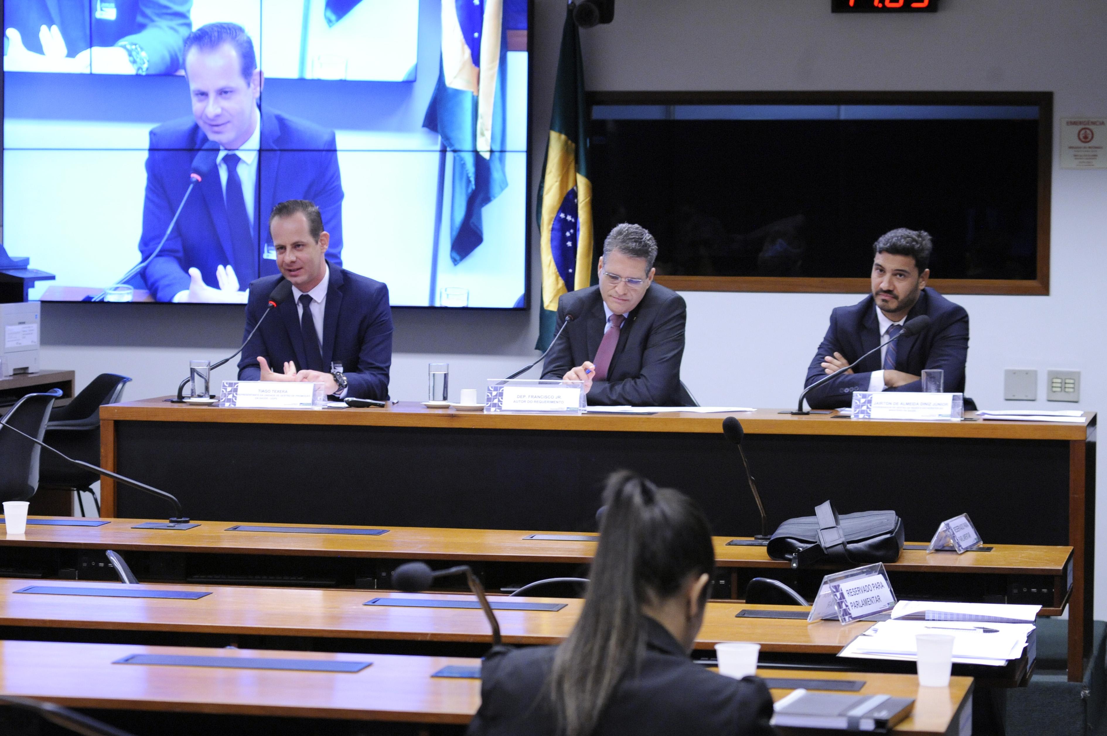 """Audiência Pública - Tema: """"Aplicação de tecnologia desafios urbanos, governança digital e saúde."""""""