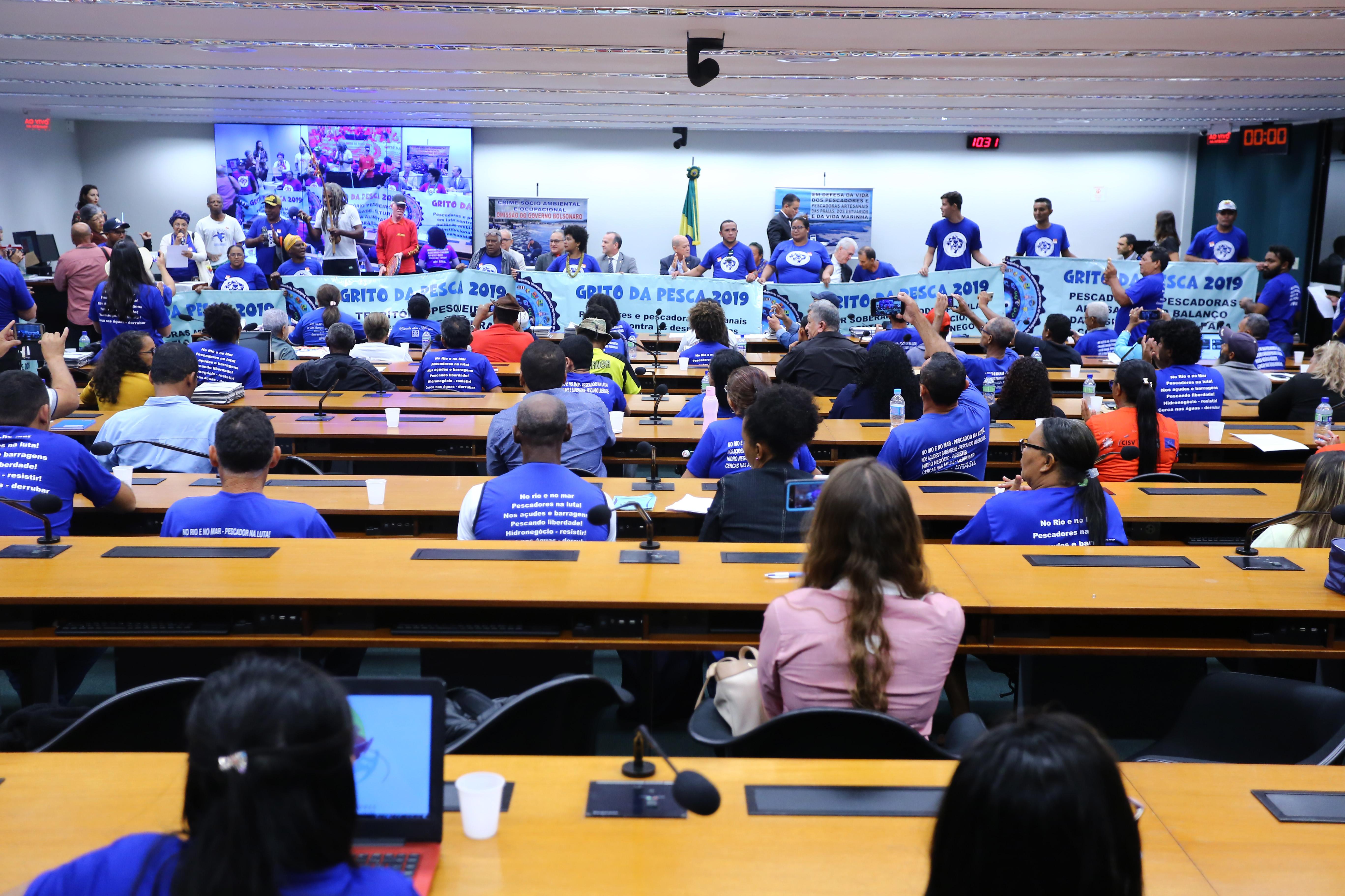 Audiência Pública Extraordinária - Tema: Comemoração ao Dia Nacional de Luta pela Pesca Artesanal