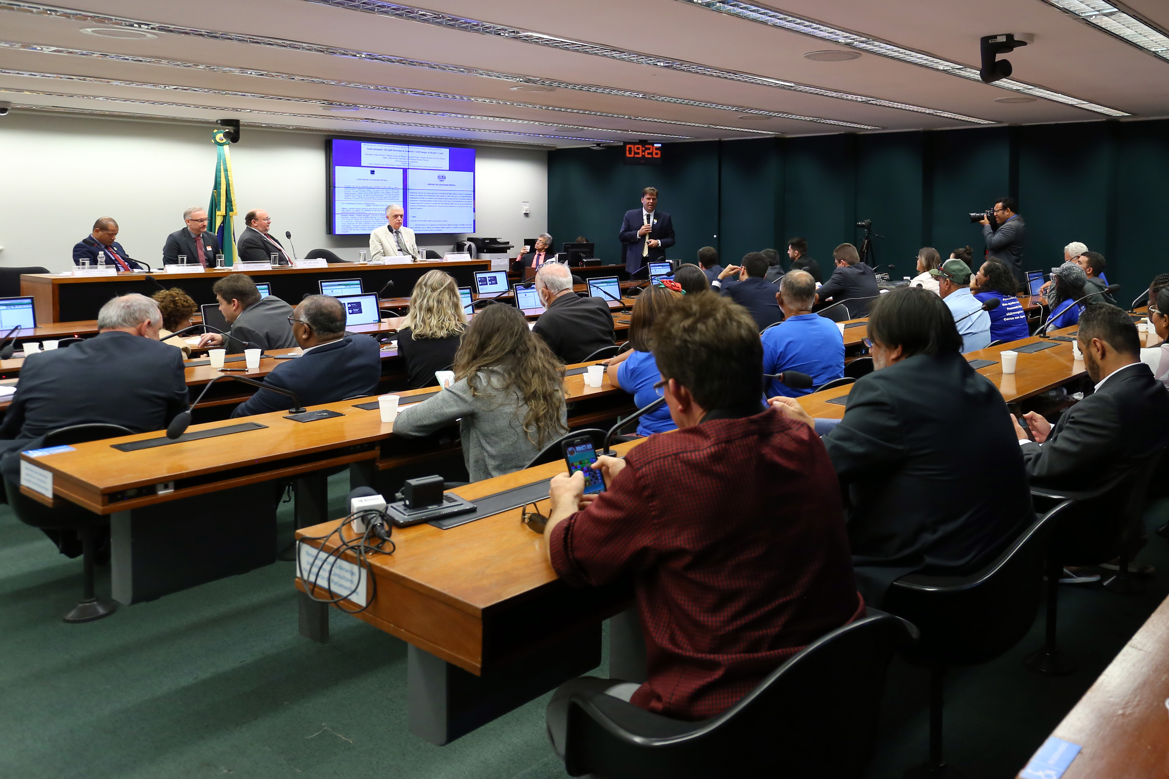 """Audiência Pública - Tema: """"Causas e ações de resposta e recuperação ao desastre""""."""