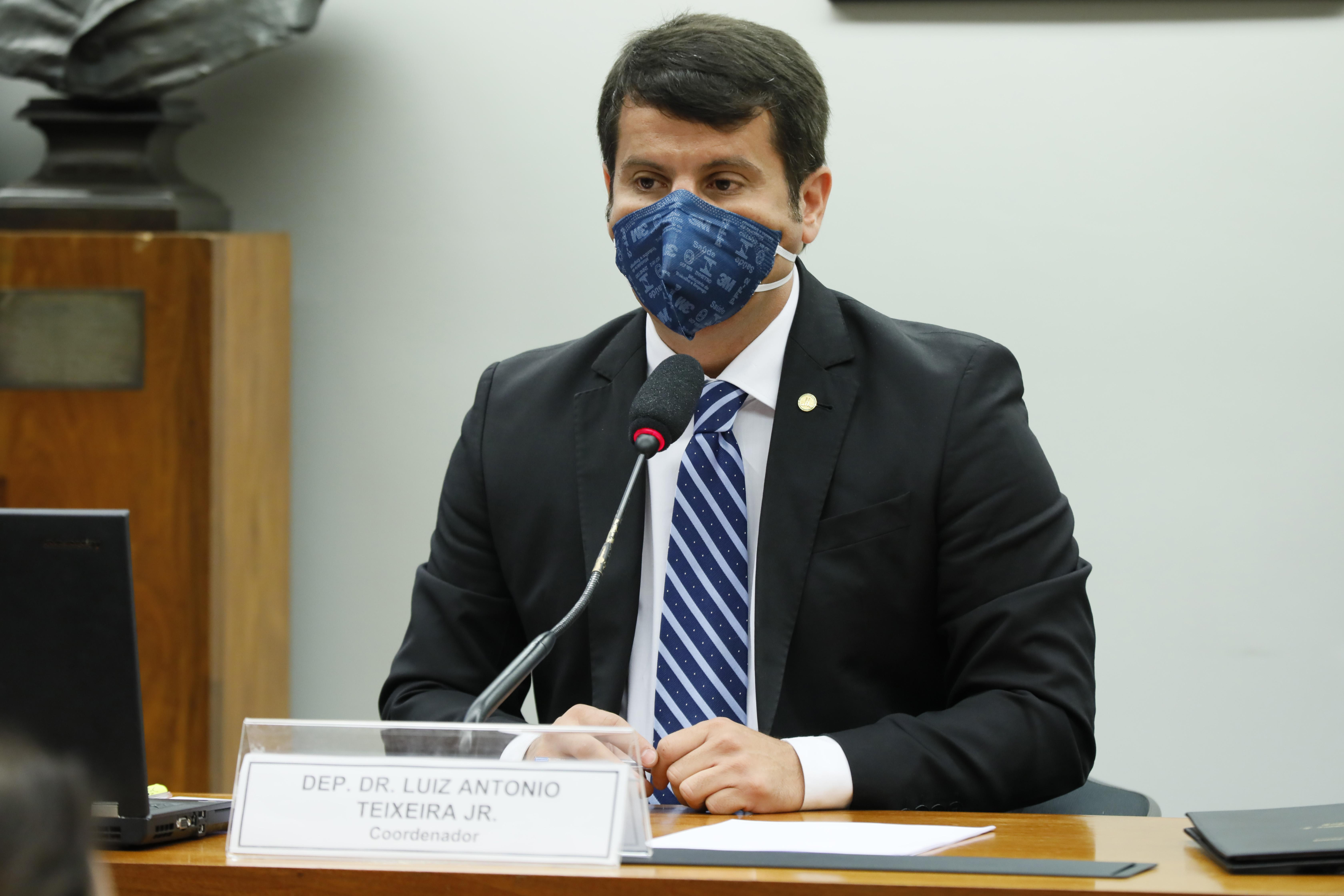 54ª Reunião Técnica por Videoconferência - O Panorama da Pandemia no Brasil. Dep. Dr. Luiz Antonio Teixeira Jr. (PP - RJ)