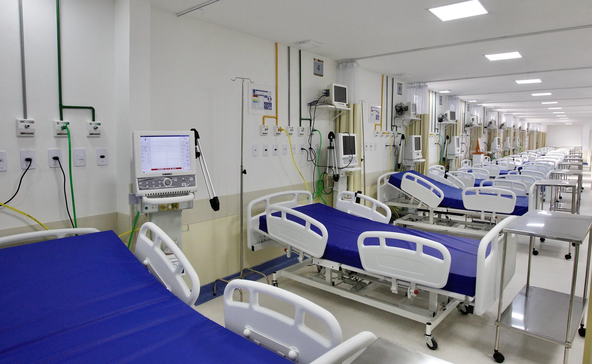 Saúde - hospitais - UTIs internação infraestutura hospitalar orçamento hospitais públicos investimentos leitos hospitalares (inauguração Hospital Municipal São Judas Tadeu, Itaboraí-RJ)