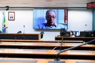 Audiência Pública - Incorporação de Novas tecnologias em Oncologia. Diretor Associação Brasileira de Hematologia, Hemoterapia e Terapia Celular (ABHH), Ângelo Maiolino
