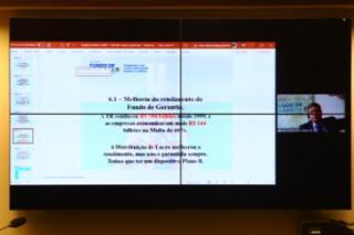 Audiência Pública - Mudanças no Fundo de Garantia – FGTS. Presidente do Instituto Fundo de Garantia do Trabalhador, Mario Avelino
