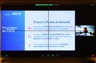 Audiência Pública - Mudanças no Fundo de Garantia – FGTS. Diretor de Fundos de Governo da Caixa Econômica Federal -CEF, Edilson Carrogi