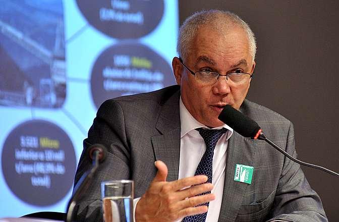 Audiência pública sobre a transformação do Departamento Nacional de Produção Mineral (DNPM) em moderna agência reguladora. Diretor-geral do DNPM, Sérgio Augusto Dâmaso de Sousa