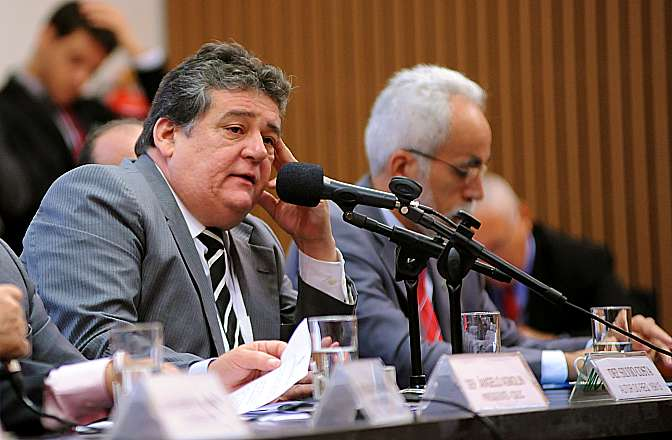 Audiência conjunta das comissões de Desenvolvimento Econômico, Indústria e Comércio (CDEIC), de Ciência e Tecnologia, Comunicação e Informática (CCTCI) e de Defesa do Consumidor (CDC) discute sobre as ações das Empresas de Marketing Multinível no Brasil. Dep. Silvio Costa (PTB-PE)