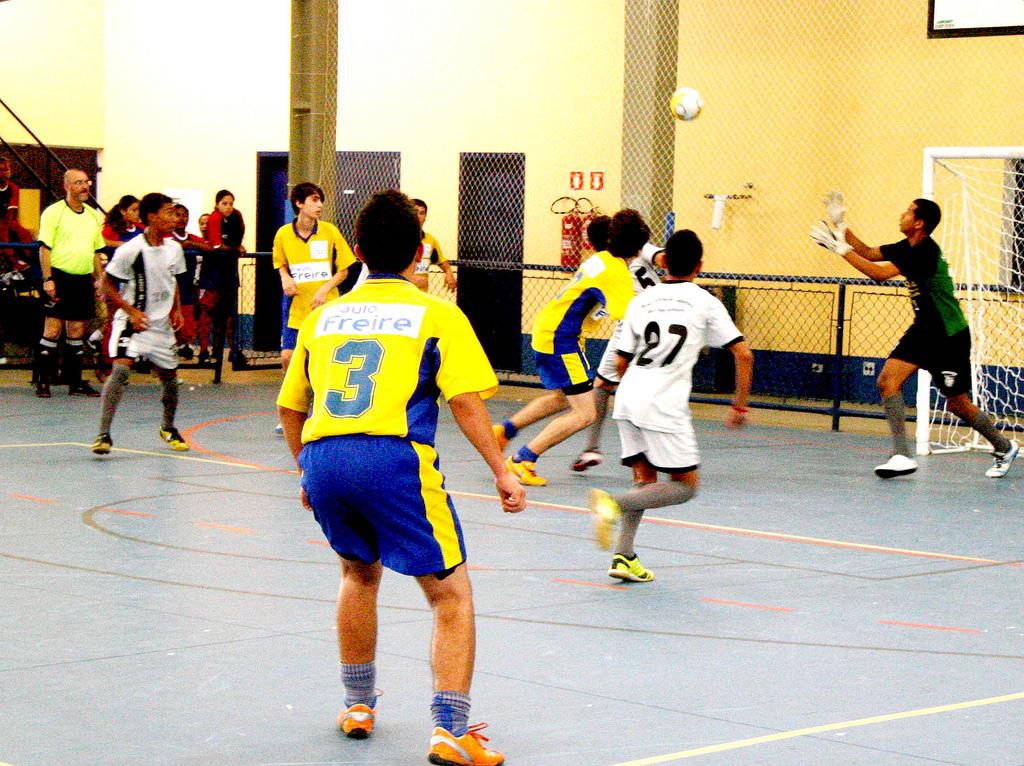 Esporte - Geral - jogos escolares estudantis futebol prática esportiva