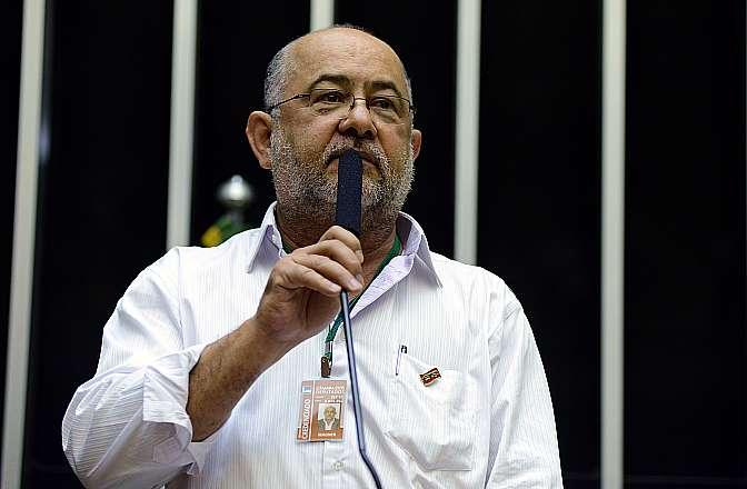 Comissão Geral sobre o Projeto de Lei que regulamenta o trabalho terceirizado no Brasil (PL 4330/04). Participante, Wagner Gomes