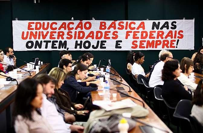 Audiência pública sobre o papel das Instituições de Educação Básica nas Universidades Federais