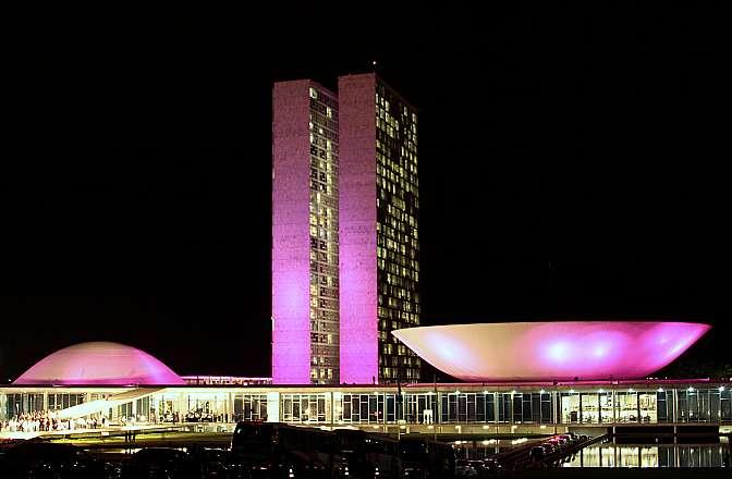 Resultado de imagem para camara dos deputados outubro rosa