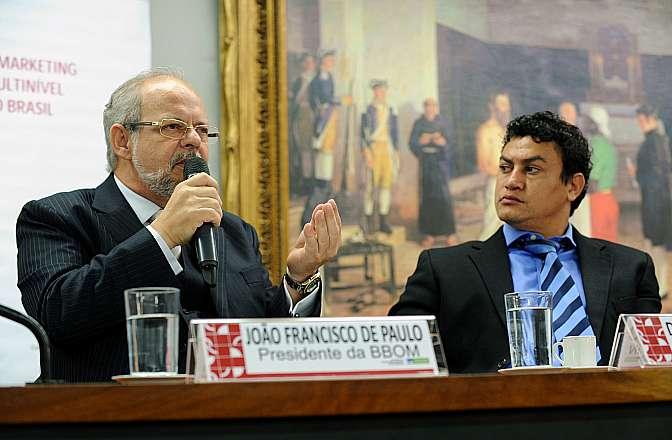 Audiência pública sobre o marketing Multinível no Brasil. Presidente do BBom, João Francisco de Paulo