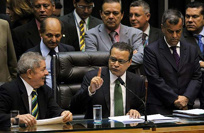 Entrega da medalha Suprema Distinção ao ex-presidente da República, Luiz Inácio Lula da Silva. Presidente da Câmara, dep. Henrique Eduardo Alves (PMDB-RN)
