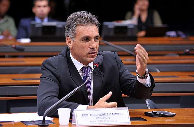 Audiência pública sobre o Estatuto do Torcedor e outros temas tratados pelos Projetos de Lei nos 6.871/10 e 3.462/12. Dep. Guilherme Campos (PSD-SP)