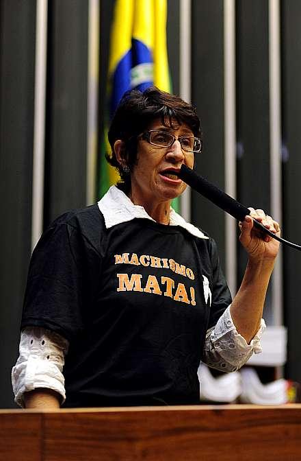 Discussão sobre o fim da violência contra a mulher. Dep. Iriny Lopes (PT-ES)