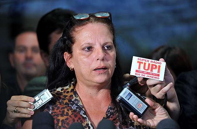 Coletiva com Ramona Matos Rodriguez, médica cubana que esta abrigada na sala da Liderança do Democratas, após fugir de Pacajá, no Pará, onde trabalhava no programa Mais Médicos desde outubro