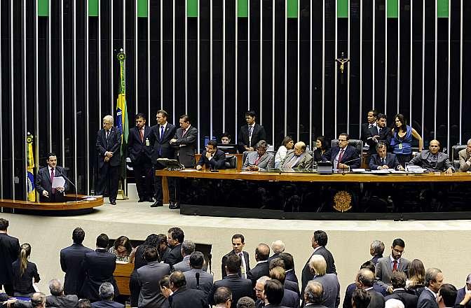 Sessão destinada a votar a representação do PSB que pede a perda do mandato do deputado Natan Donadon (Sem partido-RO) por quebra de decoro parlamentar