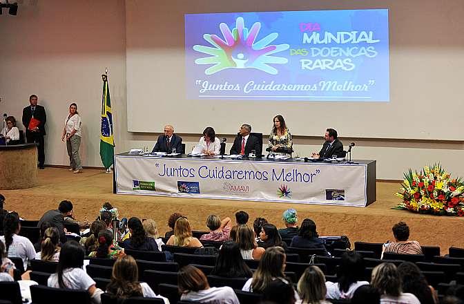 Associação AMAVI de Atenção aos Familiares e Pacientes de Doenças Raras promove o Dia das Doenças Raras em Brasília