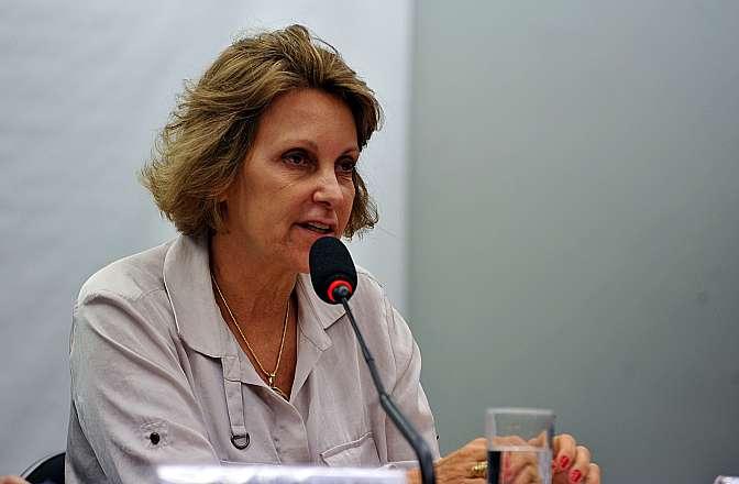 Audiência pública para discutir os preços das passagens aéreas no Brasil. Coordenadora Institucional da Associação Brasileira de Defesa do Consumidor ( PROTESTE), Maria Inês Dolci