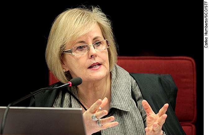 Autoridades - Ministra do Supremo Tribunal Federal (STF) Rosa Weber