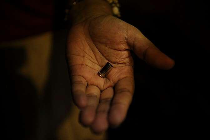 Segurança - Geral - Violência arma tiro bala assassinato perícia
