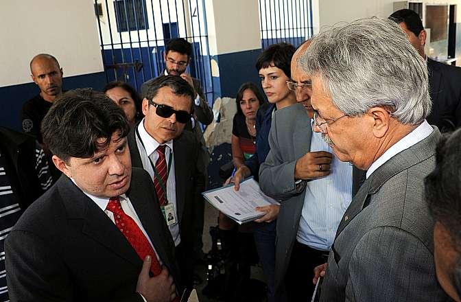 Parlamentares da Frente Parlamentar em Defesa dos Direitos Humanos visitam o Complexo Penitenciário da Papuda
