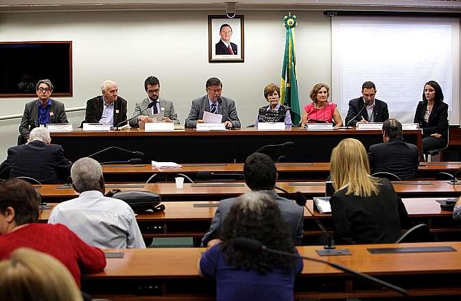 Audiência pública sobre a chacina do Parque do Iguaçu/PR, durante a ditadura militar, em especial quanto à busca dos corpos das vítimas