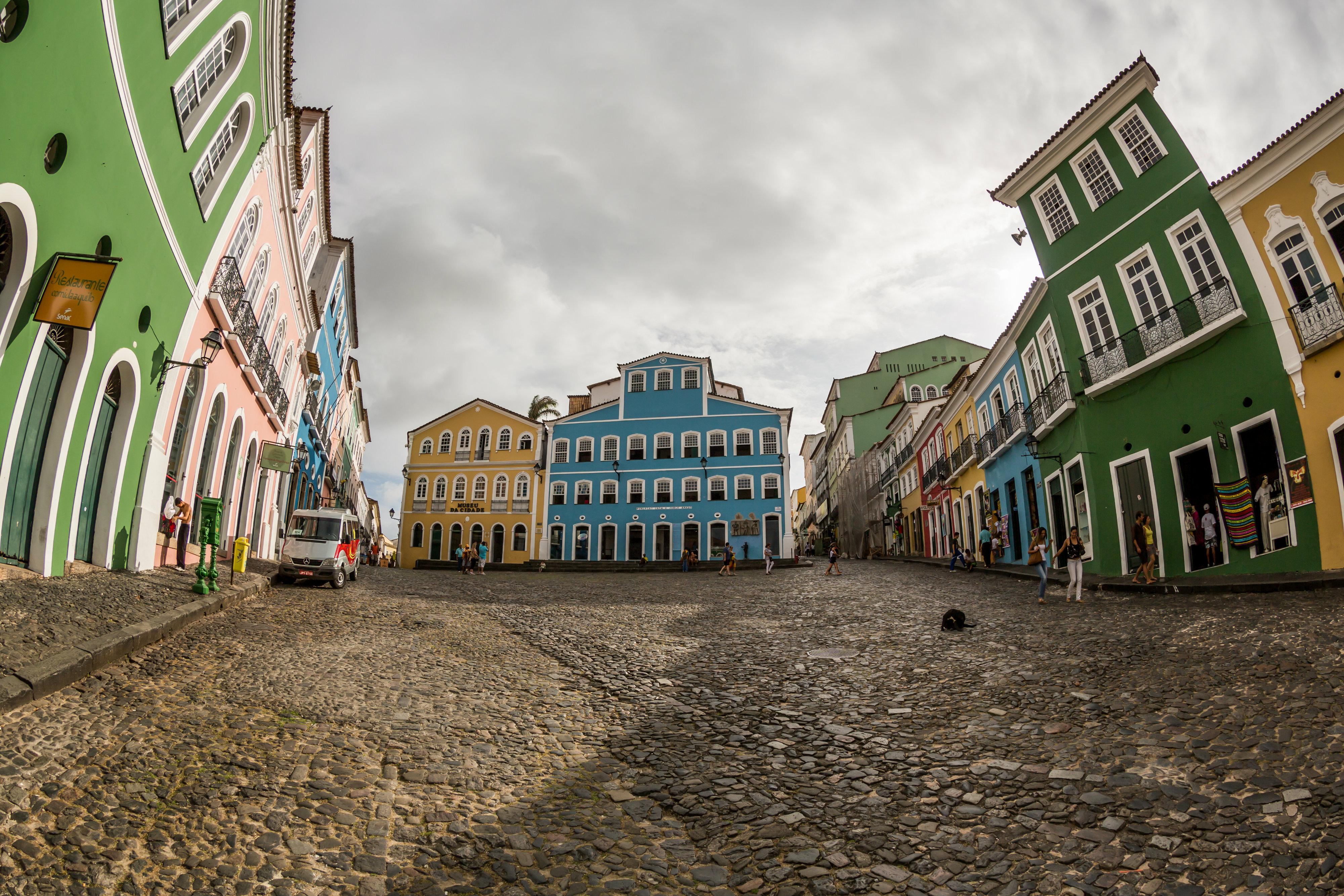Turismo - Brasil - Salvador Pelourinho cidade histórica patrimônio histórico