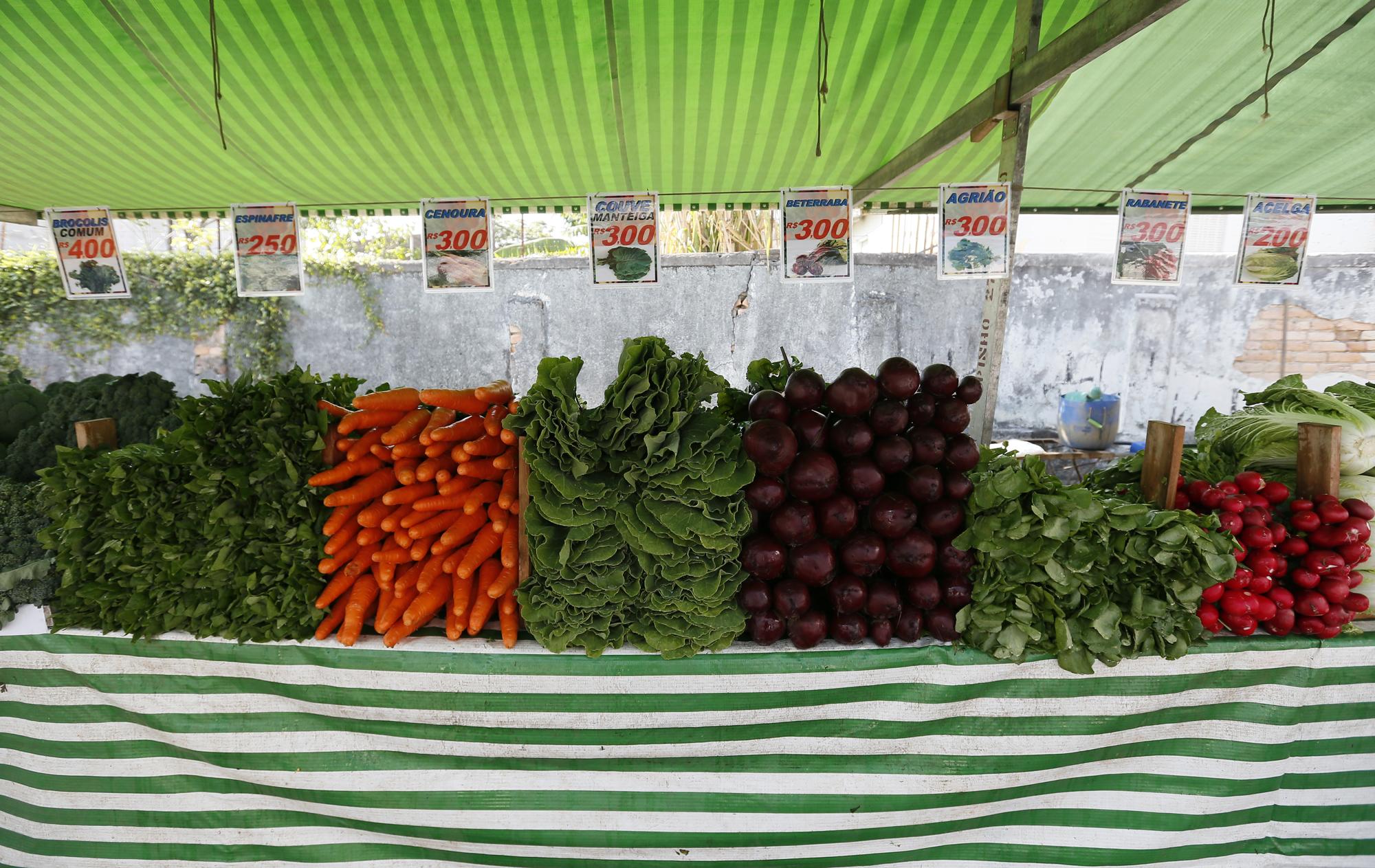 Alimentos - Frutas e Verduras feira inflação alimentação nutrição
