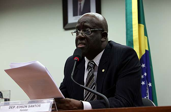 Deputado Edson Santos (PT-RJ)