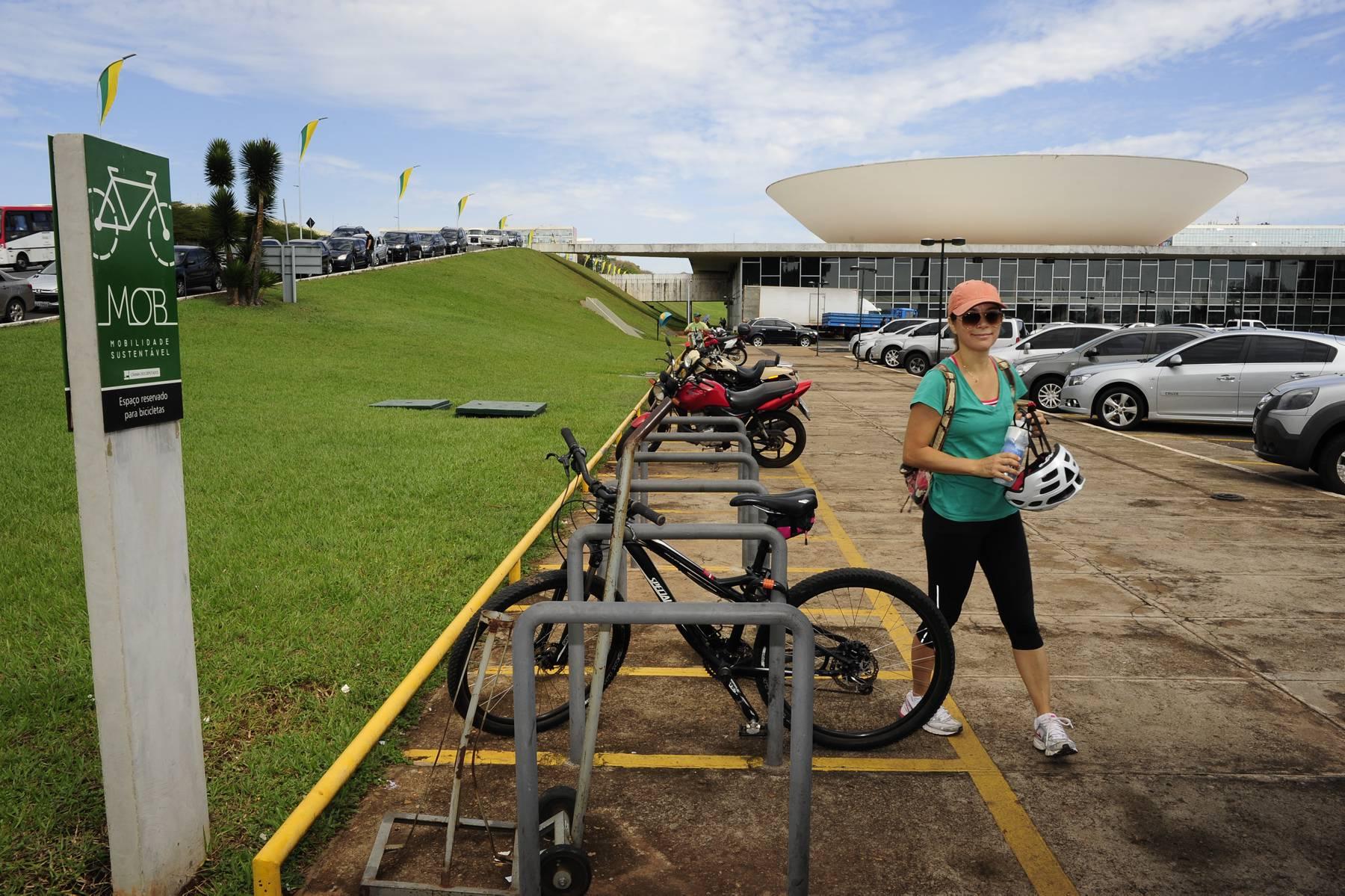 Bicicletário da Câmara dos Depútados