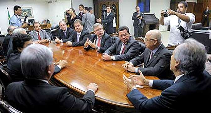 Integrantes da CPMI da Petrobras no STF
