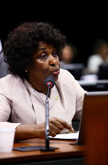 Deputada Benedita da Silva (PT-RJ)