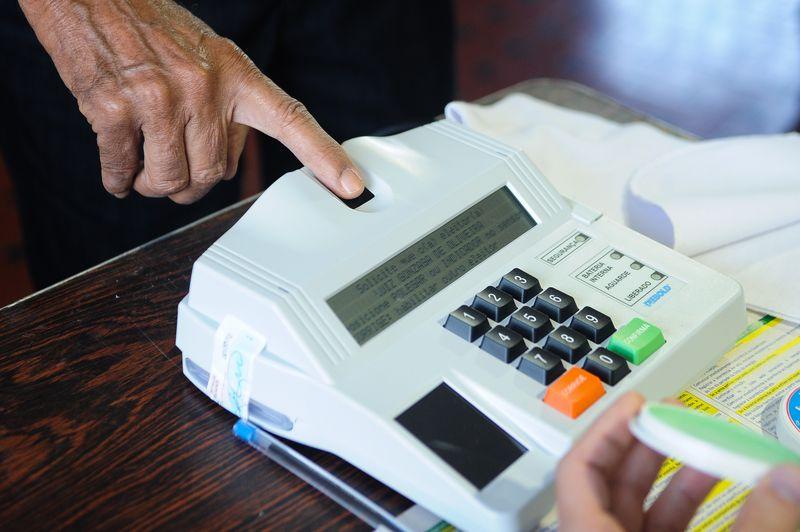 Eleições 2014/ Identificação biométrica