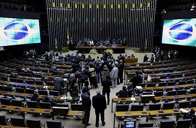Ato de reinauguração das rampas de acesso à Mesa e às Tribunas do Plenário Ulysses Guimarães