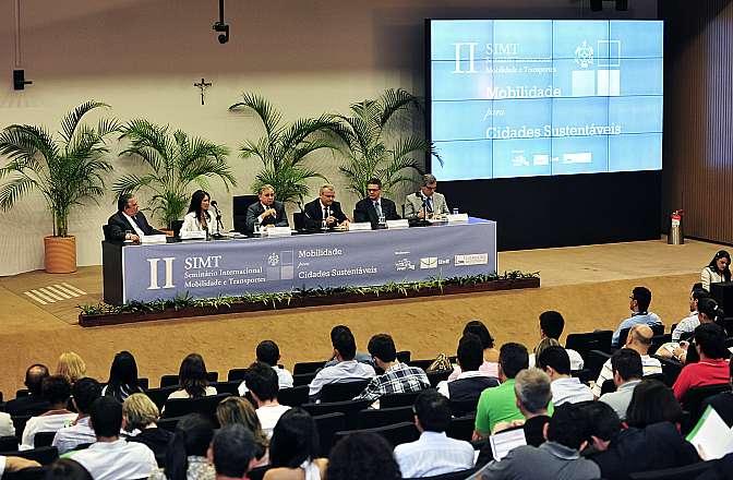Abertura do II Seminário Internacional de Mobilidade e Transportes - Mobilidade para Cidades Sustentáveis