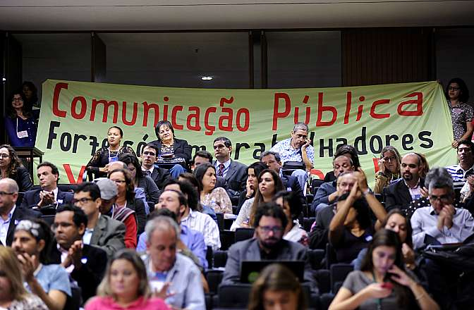 Secretaria de Comunicação da Câmara e Frente Parlamentar pela Liberdade de Expressão e o Direito à Comunicação com Participação Popular realizam o Fórum Brasil de Comunicação Pública
