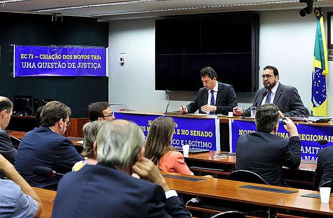 Ato Público em defesa da Criação de Tribunais Federais no Estado da Bahia, Paraná, Minas Gerais e Amazonas