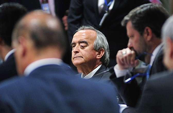 Reunião para acareação entre os ex-diretores da Petrobras, Paulo Roberto Costa, de Abastecimento e (foto) Nestor Cerveró, da Área Internacional